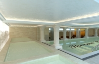 Indoor shock pool